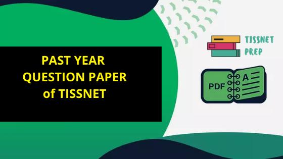 TISSNET Question Paper