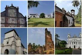 Image result for churches of goa unesco